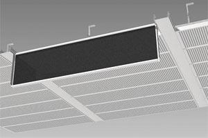 Металлические потолки Cesal